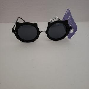 Claire's black cat Sunglasses